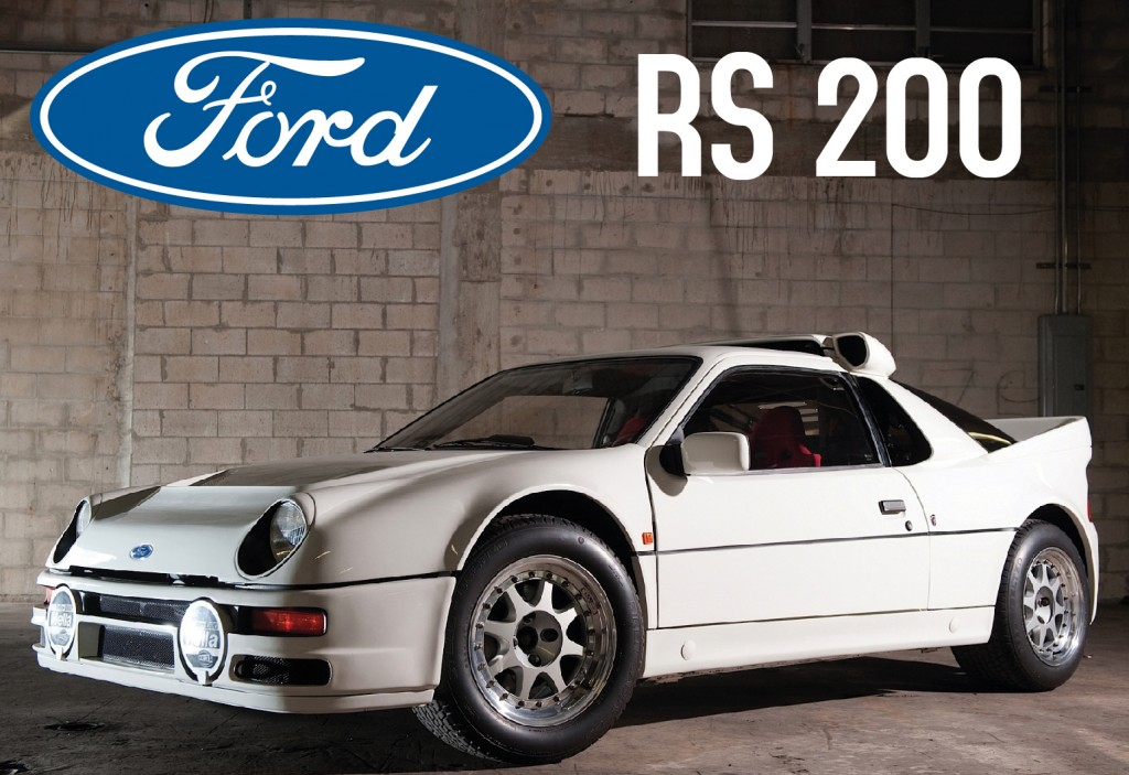 ford rs 200 feria oviedo