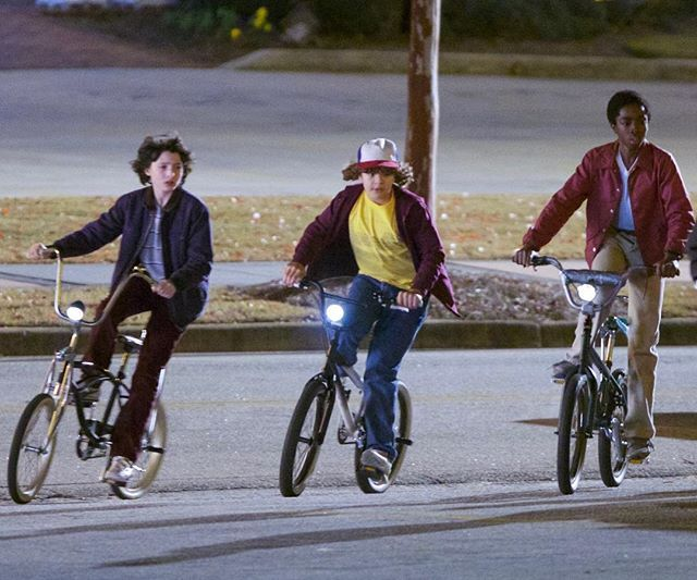 stranger things coleccion bicicetas